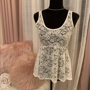 🤍Lace Babydoll Top🤍